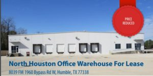 North Houston Office Warehouse for Lease