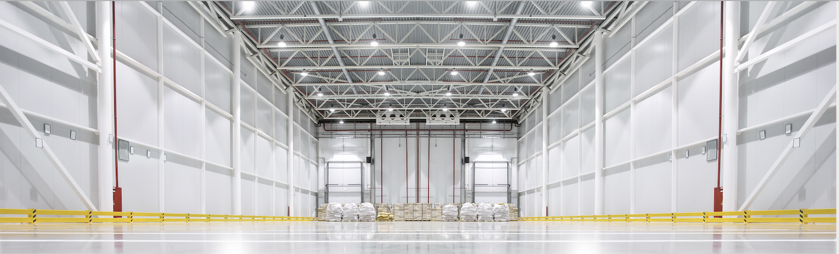 Photo of Inside View of Large Cold Storage Space