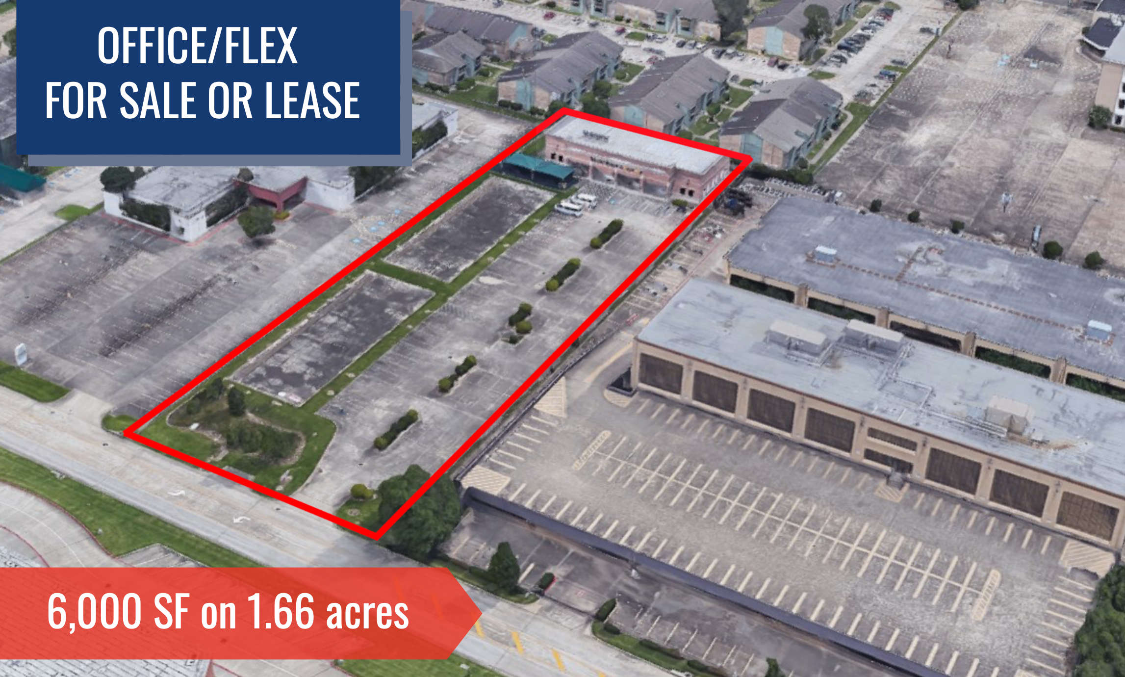 Must Sell Flex Warehouse for Sale w/2 BTS Slabs Ready